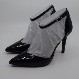 Jessica Simpson Patent Black Heels 6M - NIB